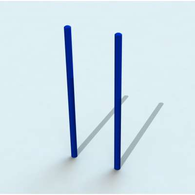 Столбы вертикальные для выполнения упражнений Воркаут