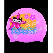 Шапочка для плавания AWT MULTI JR, силикон