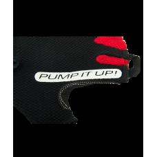Перчатки для фитнеса SU-119, черные/красные