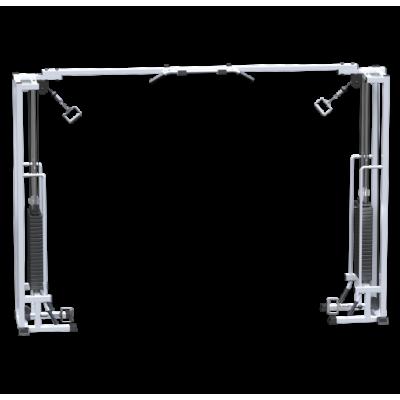 AR083.2х100 Кроссовер на базе реабилитационного тренажера (стек 2х100кг)