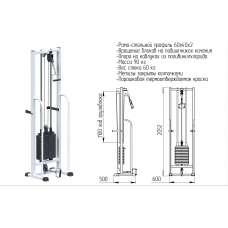 AR060.1х2050 Salus (стек 60кг)