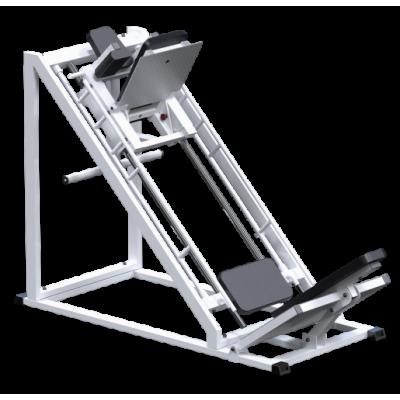 AR035.2 Жим ногами + Гак машина на свободных весах