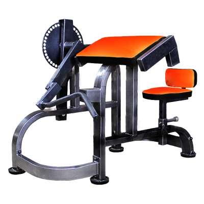 Силовой тренажер GM-015 для бицепсов и трицепсов на свободных весах
