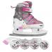 Набор подростковый (раздвижные коньки + ролики) MAXCITY VOLT ICE