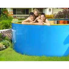 """Бортовой каркасный бассейн """"Ньяса"""" 3.4х1.25 м"""