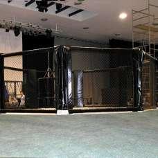 МС Восьмиугольный ринг, высотка сетки 1.83 м. Диаметр 5 м без помоста