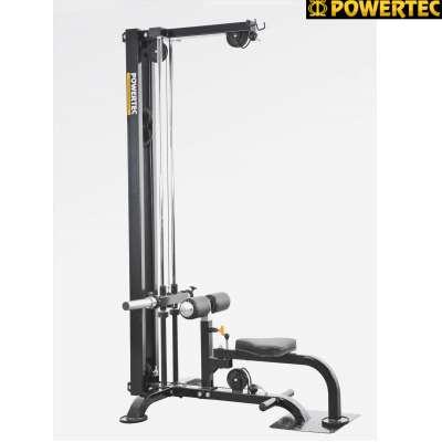 Силовой тренажер со свободным весом powertec lat machine p-lm14