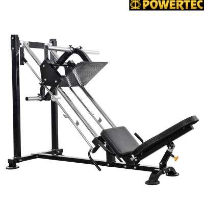 Силовой тренажер со свободным весом powertec p-lp14