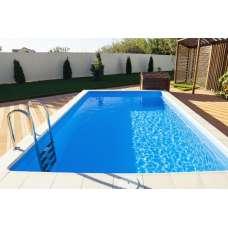 Полипропиленовый бассейн «оазис» (5.0 x 2.5 x 1.5 метра)