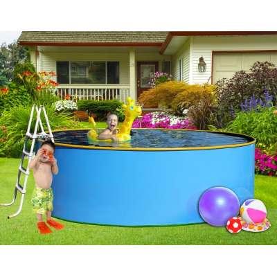 """Бортовой каркасный бассейн """"Эри"""" 2.7х1.25 м"""