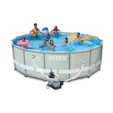 Каркасный усиленный бассейн Ultra Frame (круг) 5,49х1,32м, полный комплект