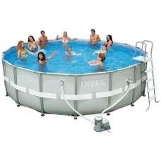Каркасный усиленный бассейн Ultra Frame 28310 (круг) 4,27х1,07м, полный комплект