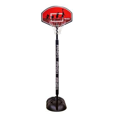 Баскетбольная стойка с кольцом and1 game time youth basketball system