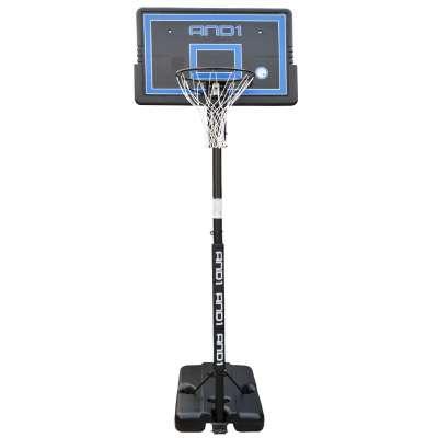 Баскетбольная стойка с кольцом and1 court star (с системой выноса щита)