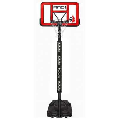Баскетбольная стойка с кольцом and1 power jam basketball system