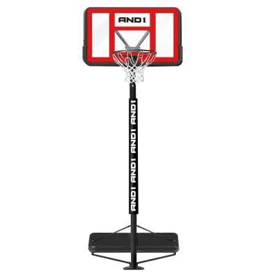 Баскетбольная стойка с кольцом and1 slam jam basketball system