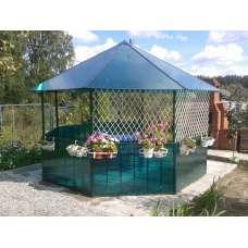 Беседка садовая « элитная»  (разборная, восьмигранная) под спк