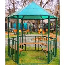 Беседка садовая « усадьба»  (разборная, шестигранная) под спк