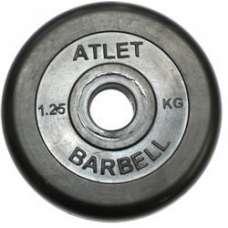Диск обрезиненный Atlet 31 мм