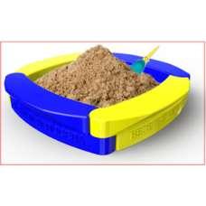 Песочница Веселый Непоседа из модулей