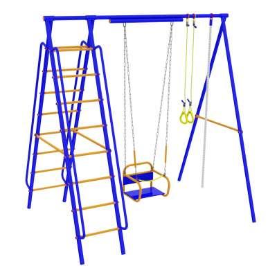"""Детский комплекс """"вереск"""" модель №4 с качелями на подшипниках"""