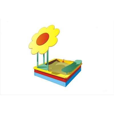 Песочница цветок рм