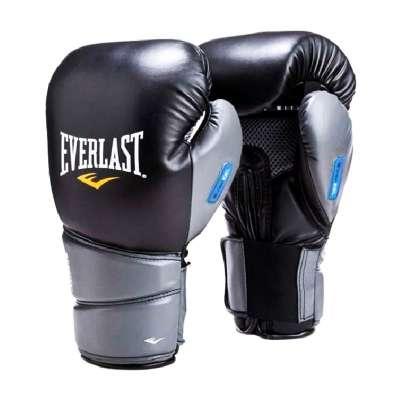 Перчатки боксерские Protex2 GEL 3112GLLXLU, к/з, черный