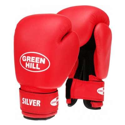 Перчатки боксерские SILVER BGS-2039, 8oz, к/з