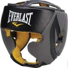 Шлем закрытый EverCool 4044, к/з, черный