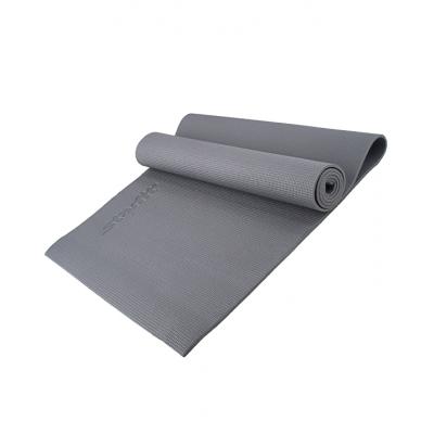 Коврик для йоги fm-101 pvc 173x61x0,5 см, серый