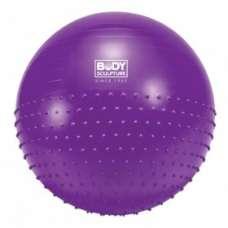 Мяч гимнастический + массажный диаметр 75 см BODY SCULPTURE BB-010-30