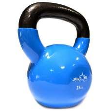 Гиря виниловая DB-401 12 кг, синяя