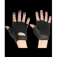 Перчатки для фитнеса SU-114, черные STARFIT