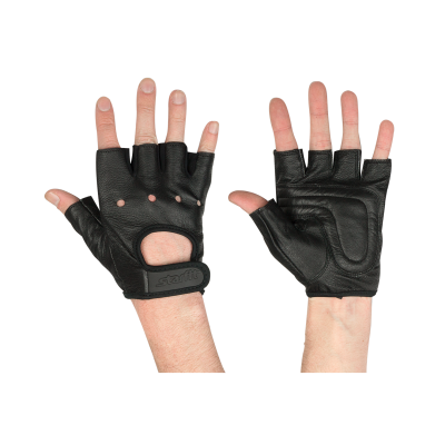 Перчатки для фитнеса SU-115, черные STARFIT