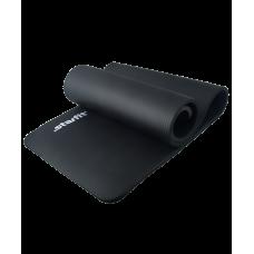 Коврик для йоги FM-301 NBR 183x58x1,5 см, черный