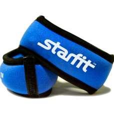 """Утяжелители для рук """"Браслет"""" WT-101, синие/черные STARFIT"""