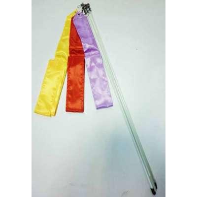 Лента гимнастическая 6 м цвет в ассортименте