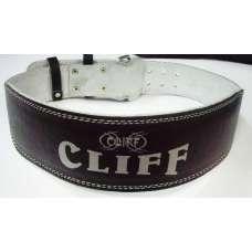 Пояс тяжелоатлета черный CLIFF l.b.4