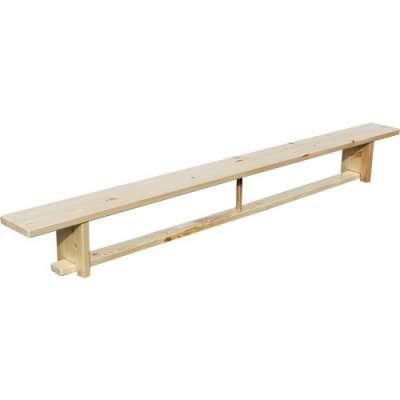 Скамья гимнастическаяна деревянных ножках ZSO