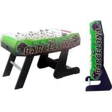 Настольный футбол «barcelona-green» складной