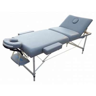 Складной массажный стол OPTIFIT LUXURY MT-57 светло-серый