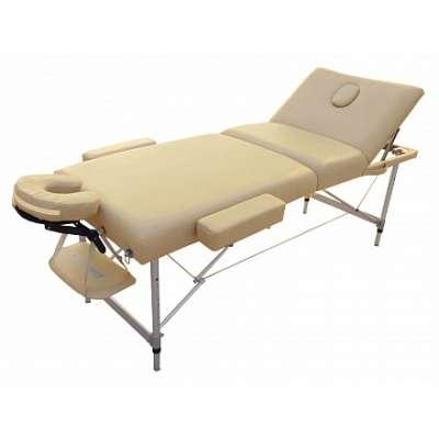 Складной массажный стол OPTIFIT LUXURY MT-55 бежевый