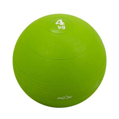Медбол GB-701, 4 кг, зеленый