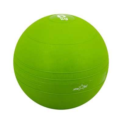 Медбол GB-701, 6 кг, зеленый