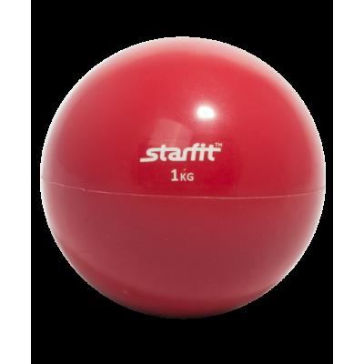 Медбол GB-703, 1 кг, красный