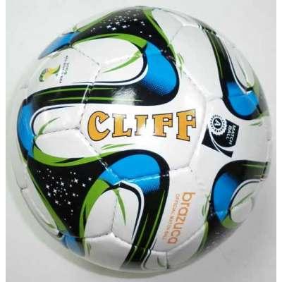 Мяч футбольный cliff brazuca