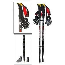 Палки телескопические для скандинавской ходьбы и трекинга «trek-shot»