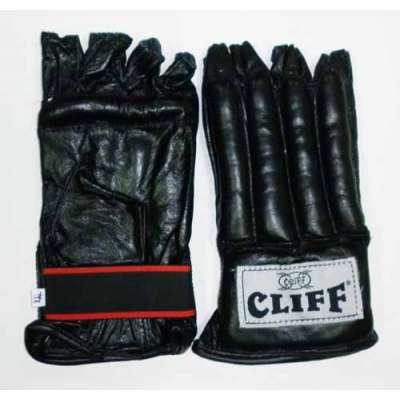 Перчатки - шингарды кожа черные