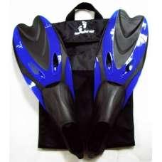 Ласты для плавания YF 36-38 синие (XS)