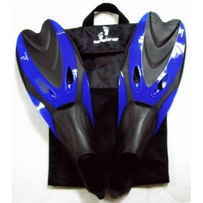 Ласты для плавания YF 38-40 синие (S)